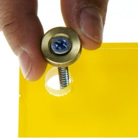 Fasce battisedia alto spessore cm 99 paracolpi trasparente in plex