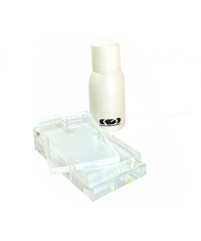 Pagamento secado rapido para metacrilato en base solvente frasco pequeño