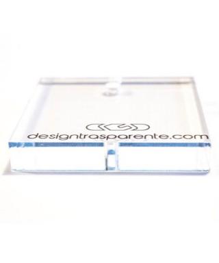 Plexiglass trasparente taglio laser su misura spessore mm 10