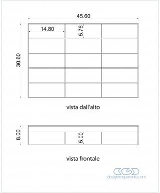Box di protezione per occhiali - contenitore in plexiglass su misura