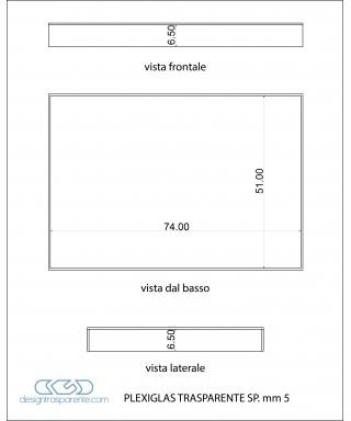 Box di protezione coprifornelli in plexiglass trasparente