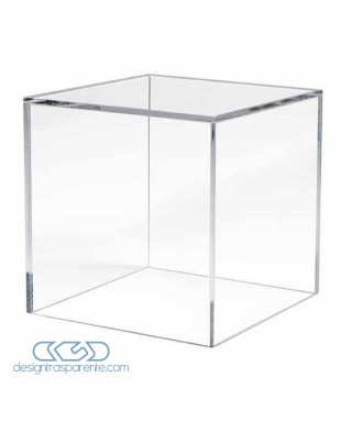 Acrylic display box 50x25 transparent for hobby model building Lego