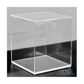 Acrylic display box 55x10 transparent for hobby model building Lego