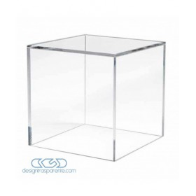 Acrylic display box 50x40 transparent for hobby model building Lego