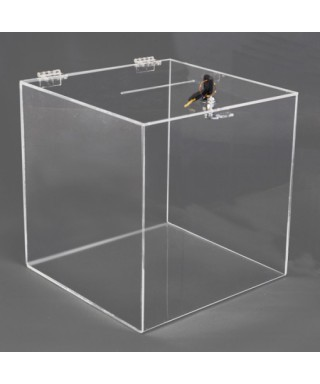 Box Urna Trasparente 35x35h35
