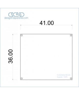 Teca standard con base con incisione personalizzata