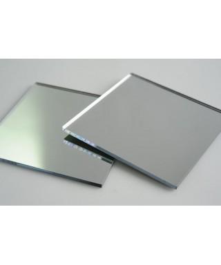 Lastra plexiglass specchio argento pannello su misura