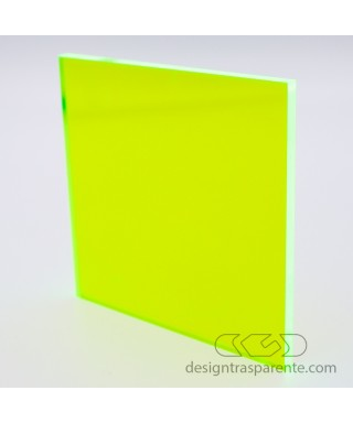 Plancha Metacrilato Amarillo Acido Fluorescente 92205 paneles a medida