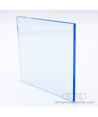 Plancha Metacrilato Azul Claro Fluorescente 92610 paneles a medida