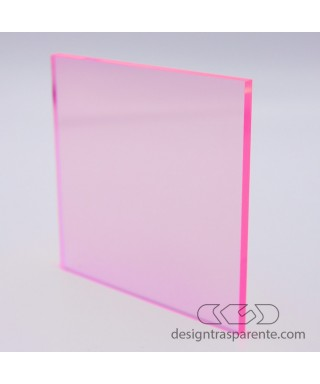 92320 Pink Fluorescent Perspex Sheet - costumized sheets and panels