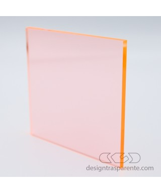 92315 Orange Fluorescent Perspex Sheet - costumized sheets and panels