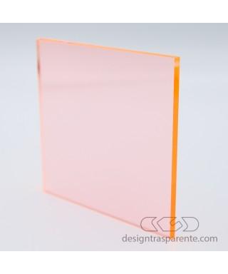 Lastra plexiglass fluorescente arancio 92315 acridite su misura