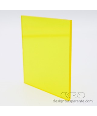 720 Transparent Yellow Methacrylate – customised sheets and panels