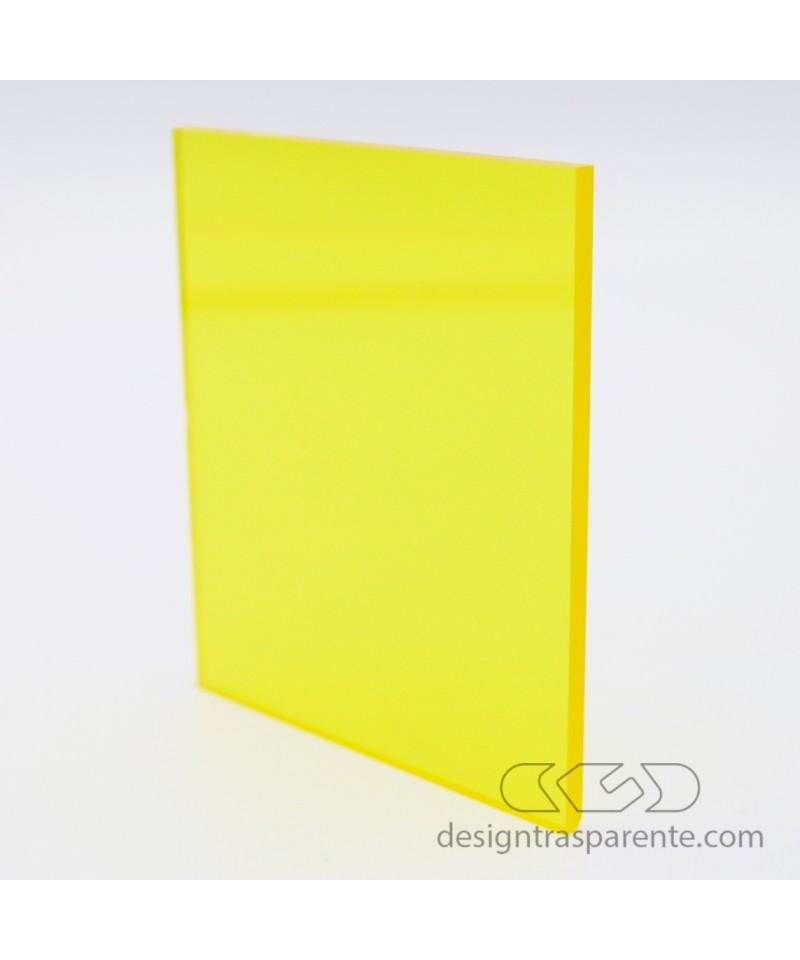 Planchas Metacrilato Amarillo Transparente 720 láminas y paneles a medida