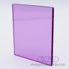 Lastra plexiglass lilla rosa trasparente 412 acridite su misura