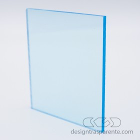 Lastra plexiglass azzurro trasparente 610 acridite su mi610 Transparent light blue Acrylic – customised sheets and panelssura