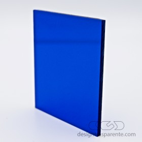 520 Transparent blue Acrylic – customised sheets and panels