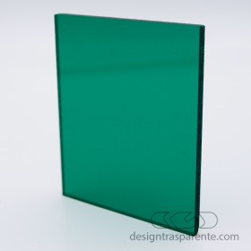 220 Transparent Bottle Green Acrylic – customised sheets and panels