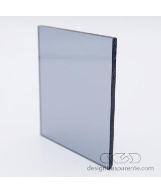 Lastra plexiglass fumè grigio medio trasparente 822 acridite su misura