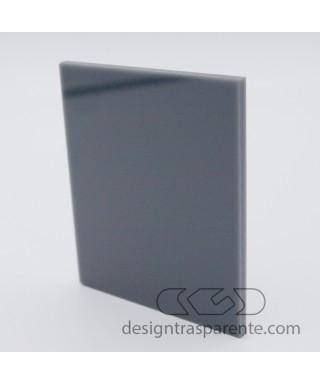 Lastra plexiglass grigio topo coprente acridite 890 su misura