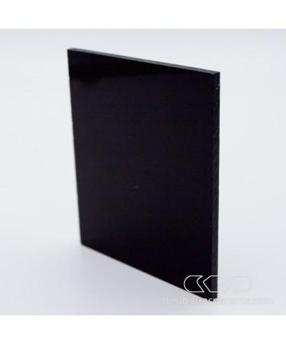 Lastra plexiglass nero lucido coprente acridite 80 su misura