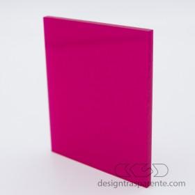 Lastra plexiglass fucsia pieno non trasparente - diffusore acridite 435