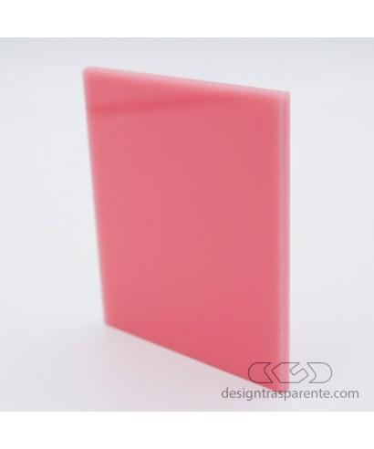 Lastra plexiglass rosa chicco pieno acridite 338 su misura