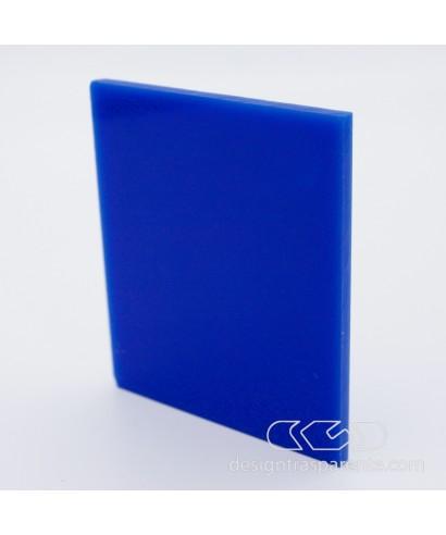 Lastra plexiglass blu cobalto azzurro pieno acridite 540 su misura