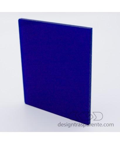 Lastra plexiglass blu notte pieno acridite 597 su misura