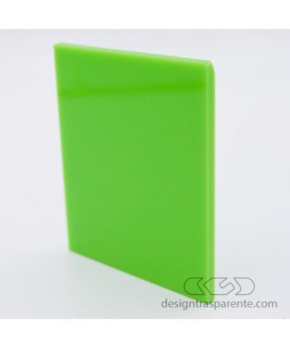 Mensole Verde Acido.Lastra Plexiglass Verde Acido Pieno Acridite 292 Su Misura