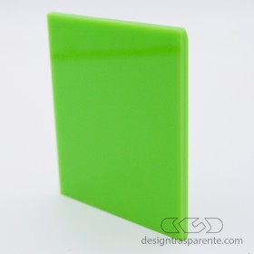 Lastra Plexiglass verde acido pieno acridite 292 su misura