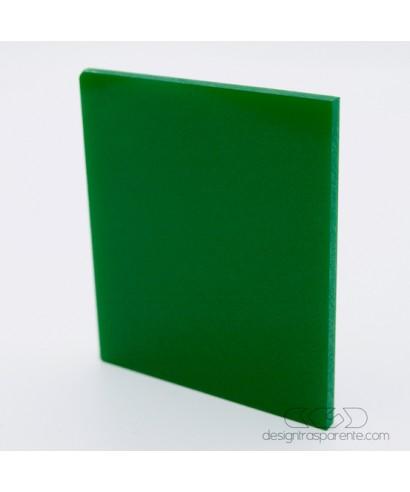 Lastra Plexiglass verde muschio pieno acridite 233 su misura