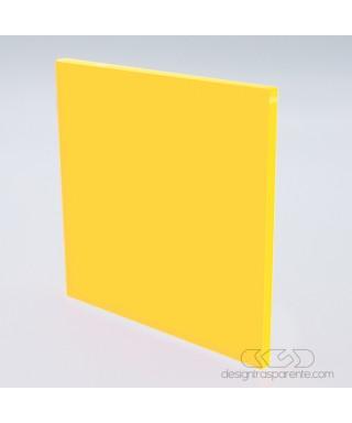 Lastra plexiglass fluorescente giallo 92705 acridite su misura