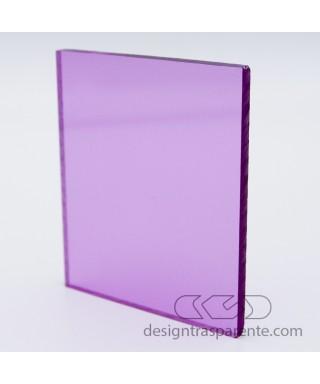Plexiglass 3 mm lilla rosa trasparente 412 acridite cm 150x100