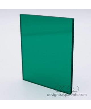 220 Transparent Bottle Green Acrylic – sheets and panels cm 150x100