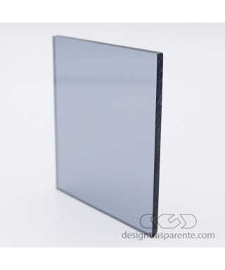 822 Transparent Grey Cast Acrylic – sheets and panels cm 150x100