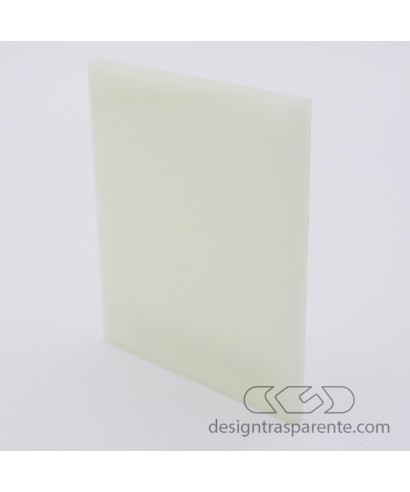771 Ivory Perspex Acrylic sheets and panels - size cm 150x100