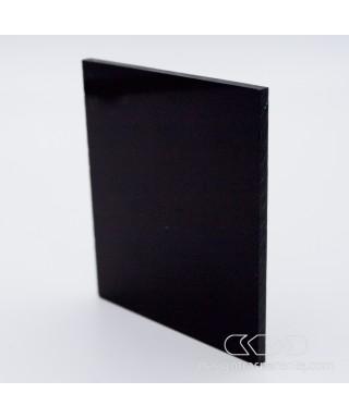 Plexiglass colorato nero lucido coprente acridite 80 cm 150x100
