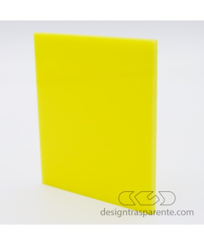 751 Yellow Gloss Perspex Acrylic sheets and panels - size cm 150x100