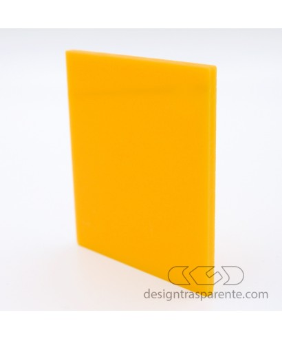 742 Yellow Ochre Perspex Acrylic sheets and panels - size cm 150x100