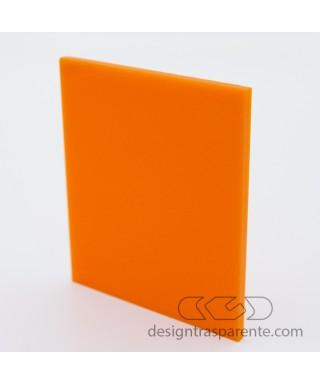 Plexiglass colorato arancione pieno diffusore acridite 797 cm 150x100