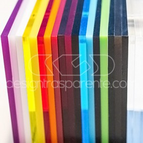 Plexiglass samples, transparent, colour, smoked, mirror, perspex
