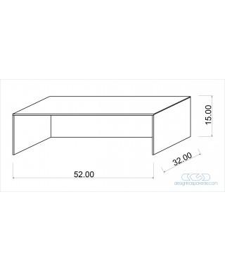 Protezioni per alimenti in plexiglass trasparente su misura