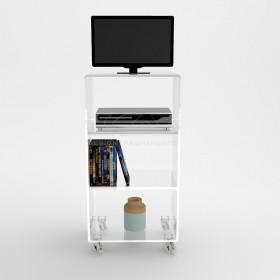 mueble-tv-plasma-50x40-con-ruedas-estantes-en-metacrilato