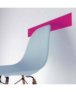 Fuchsia acrylic chair rail cm 99 wall protector
