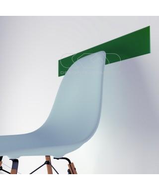 Forest green acrylic chair rail cm 99 wall protector
