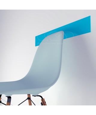 Light Blue acrylic chair rail cm 99 wall protector