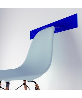 cobalt blue acrylic chair rail cm 99 wall protector