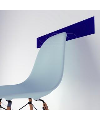 Midnight Blue acrylic chair rail cm 99 wall protector