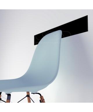 N. 21 fasce paracolpi nero 99x10 cm in plexiglass 3 mm